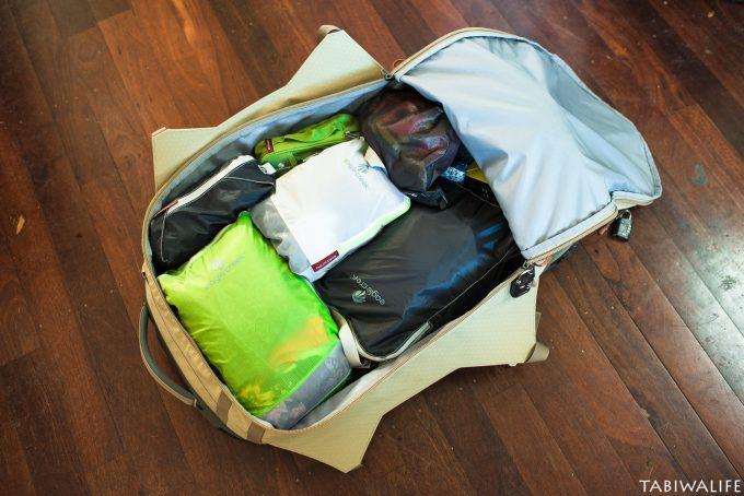 旅行圧縮袋パックイット(pacit)