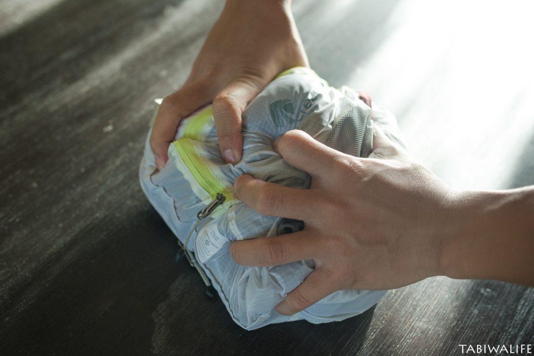 海外旅行圧縮袋パックイット packit使い方